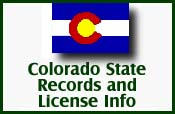 State Records and License Info